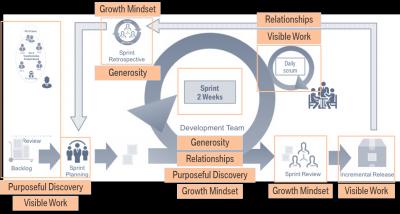 Wie Working Out Loud agiles Mindset fördert - ein Praxisbericht