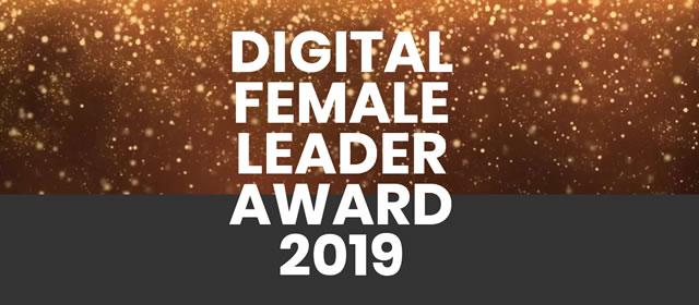Frauen in der Digitalisierung sichtbar machen – Nominierung zum Digital Female Leader Award